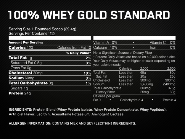 Optimum – Gold Standard 10lb (Z)