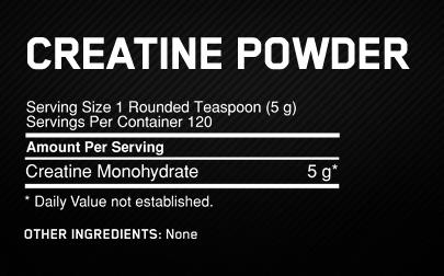 Optimum – Micronised Creatine 1.2kg – Unflavoured (Z)