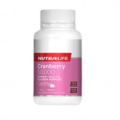 NutraLife - Cranberry 50,000 - 100 capsules