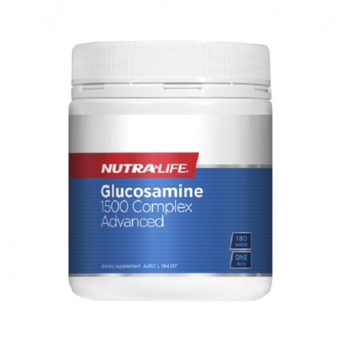 NutraLife - Glucosamine 1500 Complex Advanced - 180 tablets