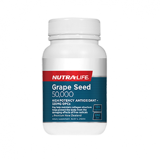NutraLife - Grape Seed 50,000 - 120 capsules