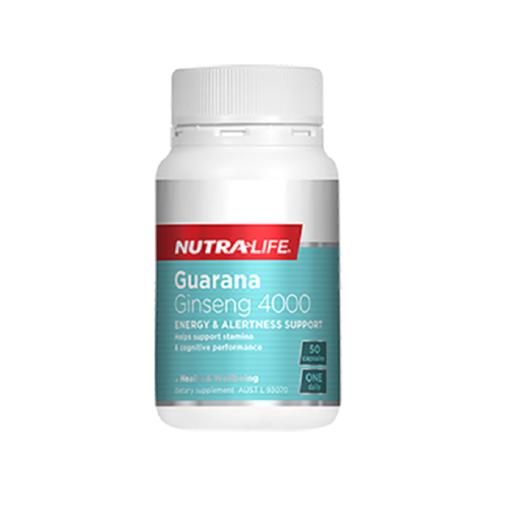 NutraLife - Guarana Ginseng 4000 - 50 capsules