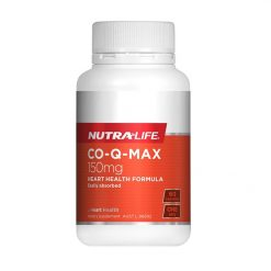 NutraLife - CO-Q-MAX 150mg - 60 capsules