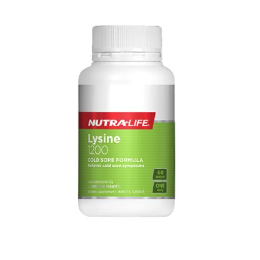NutraLife - Lysine 1200mg - 60 tablets