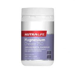 NutraLife - Magnesium Chelate 750mg - 180 capsules