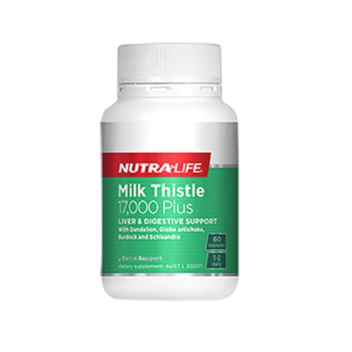 NutraLife - Milk Thistle 17,000 - 60 capsules