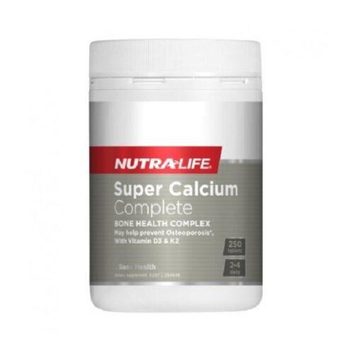NutraLife - Super Calcium Complete Gold - 250 tablets