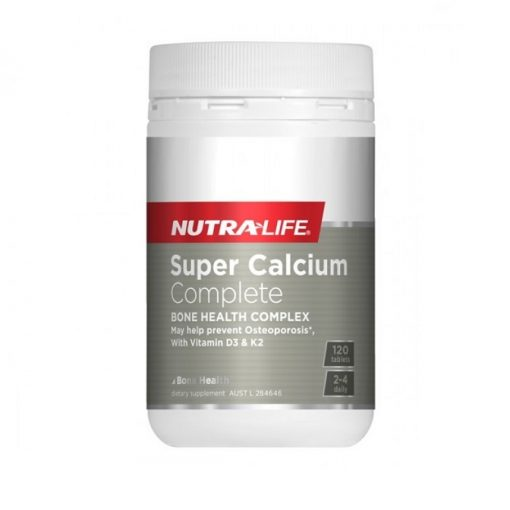 NutraLife - Super Calcium Complete Gold - 120 tablets