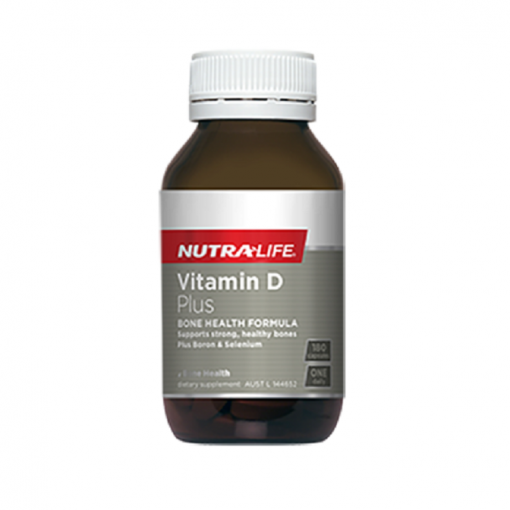 NutraLife - Vitamin D Plus - 180 capsules
