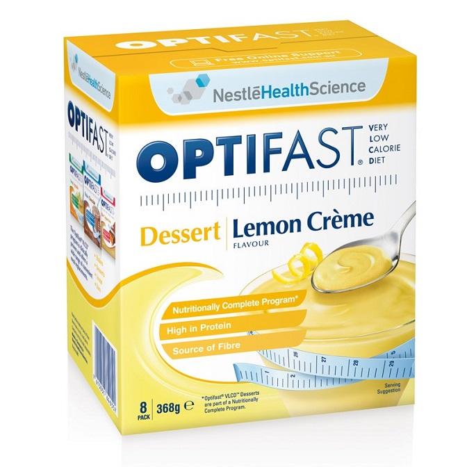 Vlcd Nestle Optifast Dessert 8 Sachets Lemon Creme
