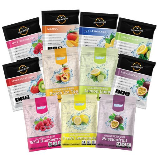 Protein Water Sample Pack Feel Good Protein and Protein Perfection