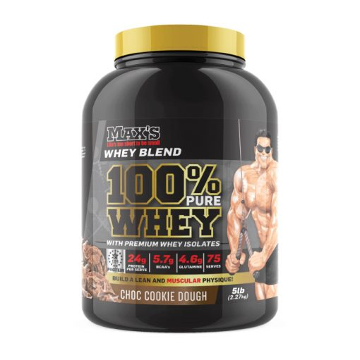 100% Whey Protein 2.3kg by Maxs