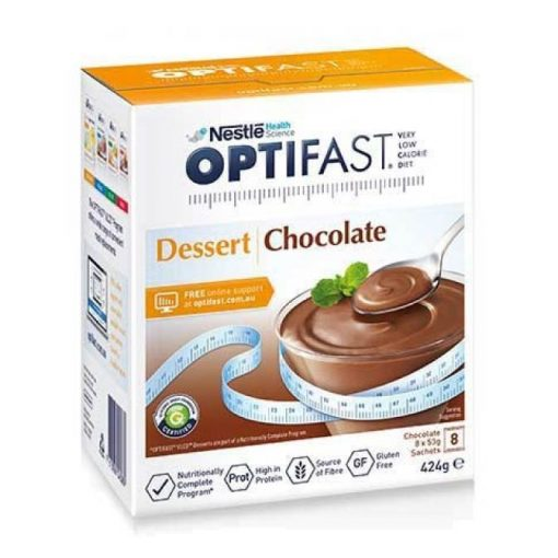 Nestle Optifast Dessert Chocolate 424g