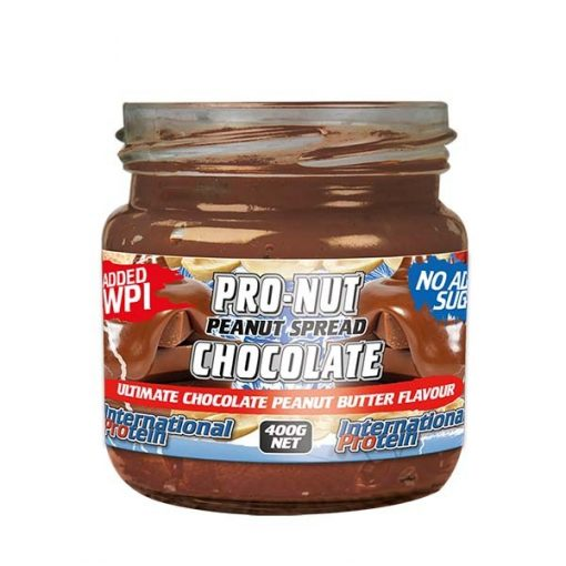 International - Pro-nut high protein peanut spread - 400g