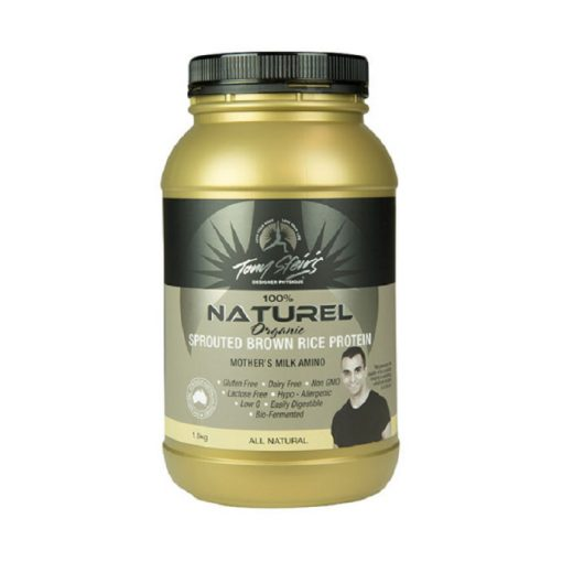 Natural Sprouted Brown Rice Protein 1.5kg Tub by Designer Physiques