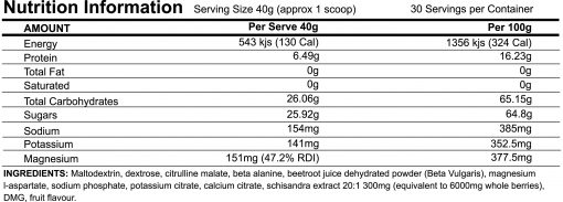 ATP-Science-–-Infrared-1kg-28-serves nutrition panel