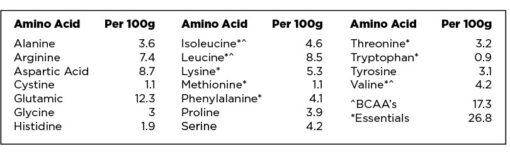 PranaON - Power Plant Protein Amino Profile