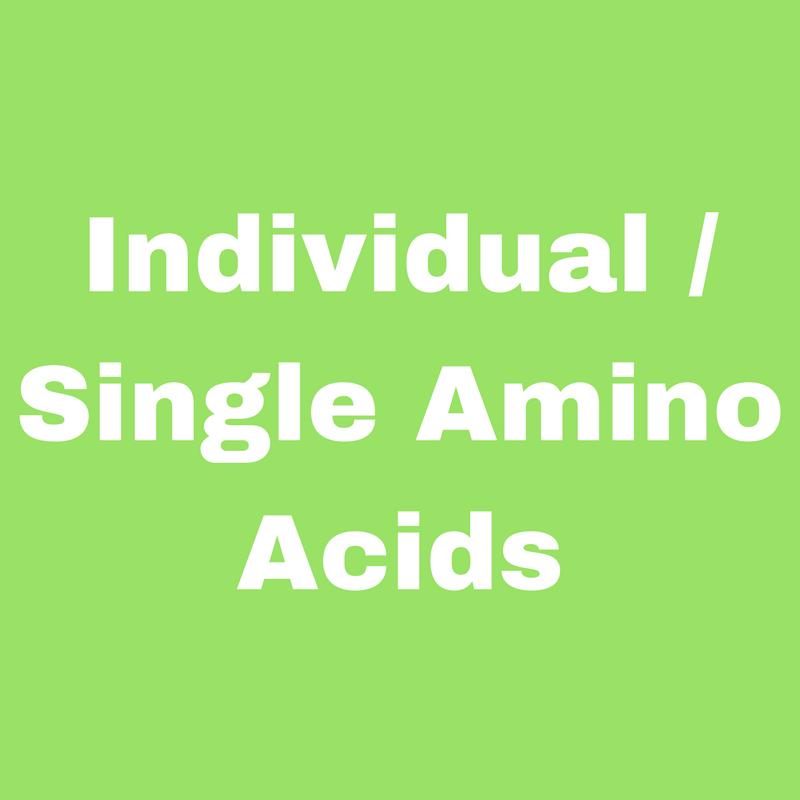 Individual/Single Amino Acids
