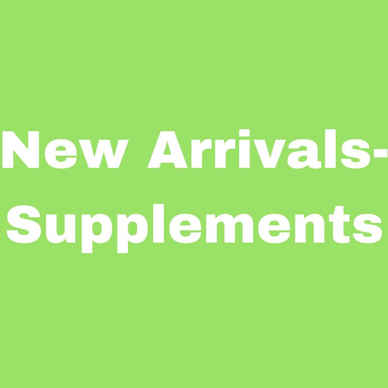 New Arrivals - Supplements