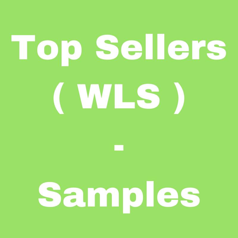 Top Sellers (WLS) - Samples