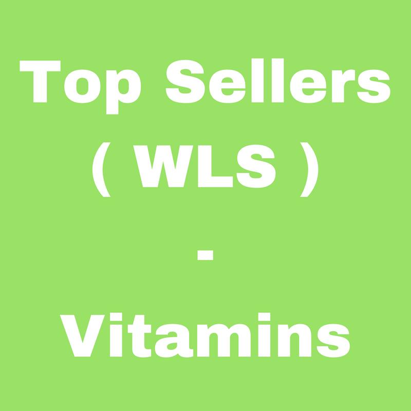 Top Sellers (WLS) - VITAMINS