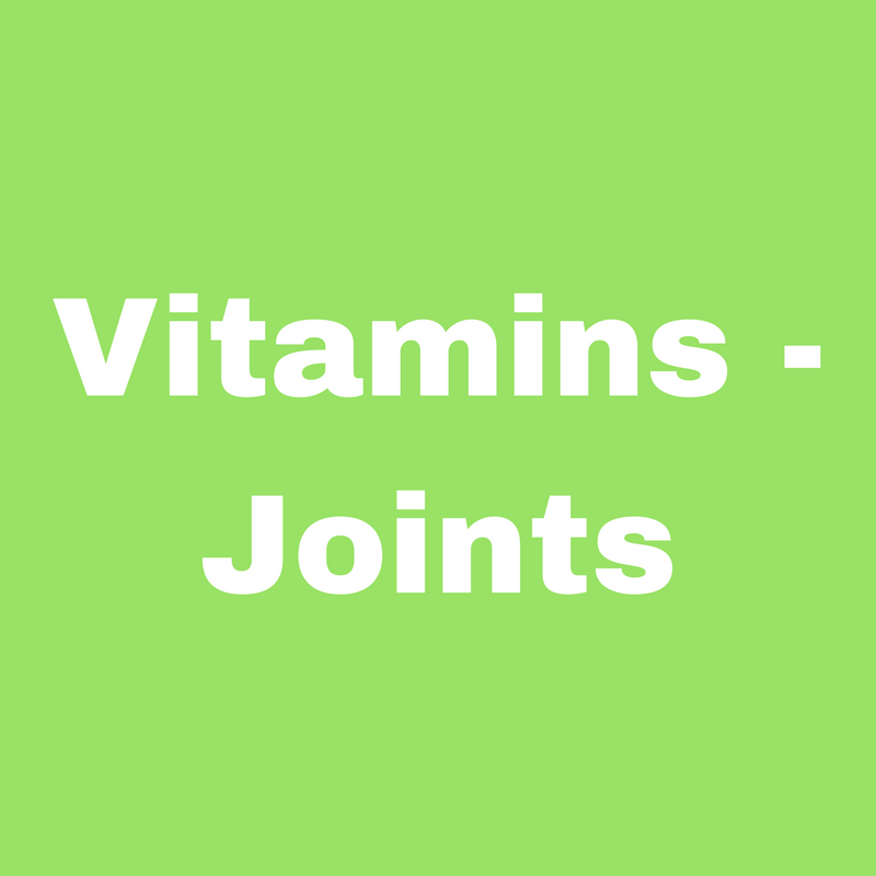 Vitamins - Joints