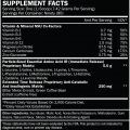 ALR Industries – HumaPro 90servings nutritional panel