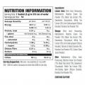 X50 – Vita Matcha 50servings nutritional panel