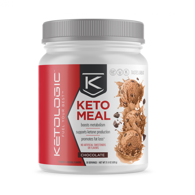Keto Meal by Keto Logic 20 Servings