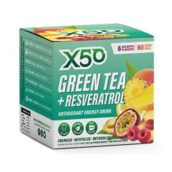 x50 Green Tea + Resveratrol 60 Serves