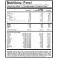 whey big plus oats nutrition panel