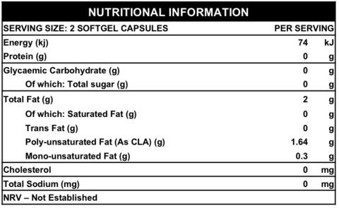 NPL CLA amino acid nutritional panel
