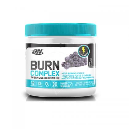 optimum nutrition burn complex stim fat burner