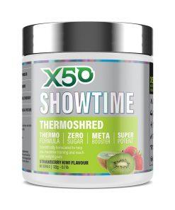 Tribecca X50 - Showtime Fat Burner - 60 serves