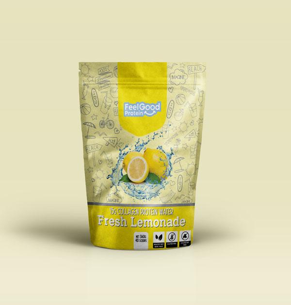 Feel Good Water Fresh Lemonade
