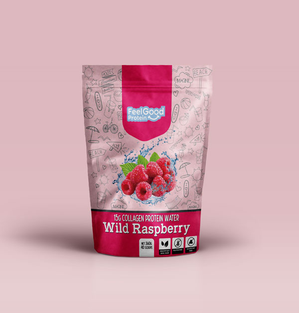 Feel Good Water Wild Raspberry