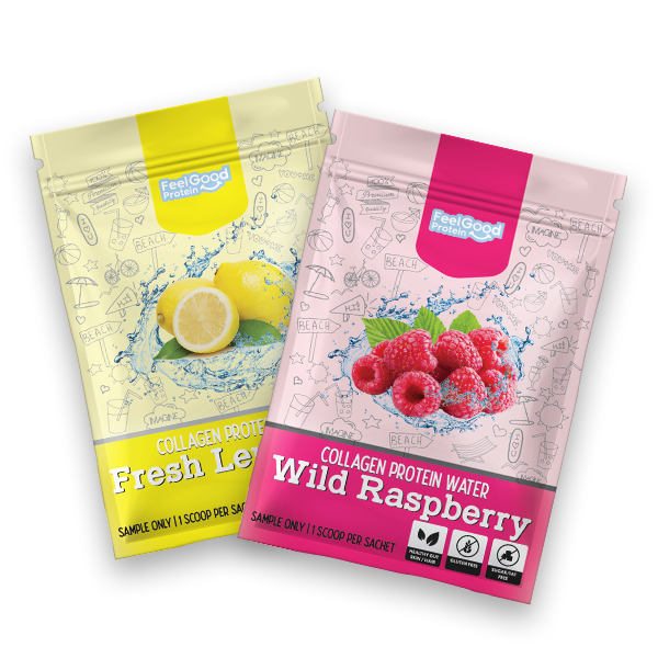 Feel-Good-Samples wild raspberry fresh lemonade flavour