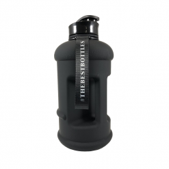 The X Athletics - Matte Bottle - Pop Top 1.3 litre - Black