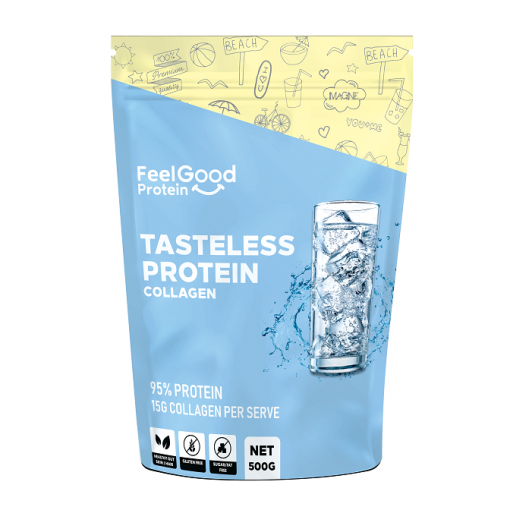 Tasteless Protein Collagen 500g by Feel Good Protein