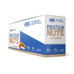 Protein Choc Coated Nuts (Box of 10) by Optimum Nutrition