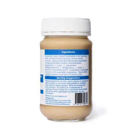 Prebiotic Bone Broth - Best of the Bone Ingredients