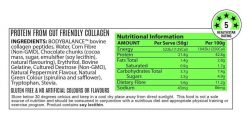 Noway Mallow Bar Mallow Minted Mint Choc Nutritional Information by ATP Science