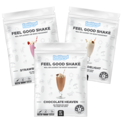 3 Sample Sachets of Feel Good Shake by Feel Good Protein