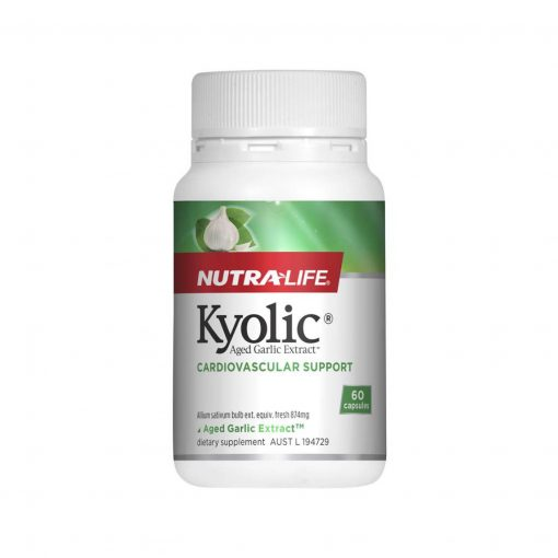 Kyolic Aged Garlic Extract by Nutralife 60 Capsules