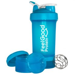 Feel Good Shaker Bottle Total 650mL Capacity by Feel Good Protein