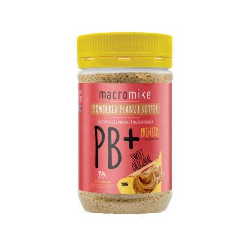 Powdered Peanut Butter 180g tub by Macro Mike