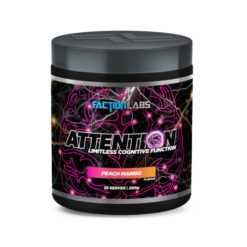 Attention NooTropic 30 Servings by Faction Labs