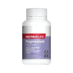 Magnesium Hi Zorb by Nutralife 60 Capsules
